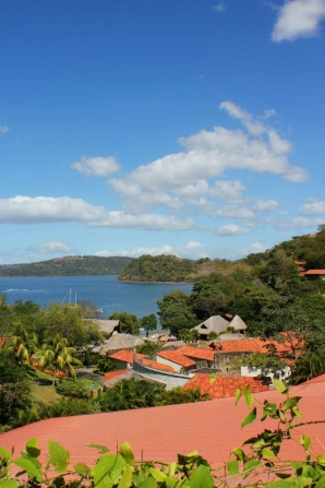 Our daily view in Costa Rica.