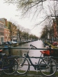 Amsterdam, the city of bikes