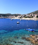 The crystal clear water of Hvar