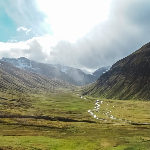 Quick photo from the side of the road in Iceland